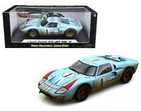SHELBY 1:18 1966 FORD GT40 MKII #1 KEN MILES 24HRS LeMANS DIRTY VERSION 405