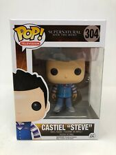NEW Funko Pop #304 Supernatural Castiel As Steve EXCLUSIVE Vinyl Figure FP20