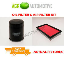 PETROL SERVICE KIT OIL AIR FILTER FOR NISSAN X-TRAIL 2.0 140 BHP 2001-07