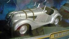 Ricko 32105, BMW 328 Roadster (1936), silber metallic, 1/18, NEU&OVP