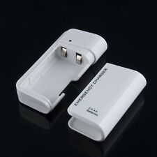 Portable AA External Battery Emergency USB Charger For MP3 Player iPod iPhone LO