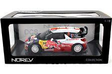 NOREV 2011 CITROEN DS3 WRC WINNER RALLY PORTOGAL RED BULL 1/18 DIECAST 181556