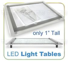 "ULTRA THIN LED Tattoo Tracing Light Box A3 (11"" x 16"") Stands Only 1"" Inch Tall"