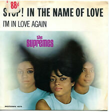 THE SUPREMES 'Stop! In The Name Of Love '  45 RPM PICTURE SLEEVE (R&B / SOUL)