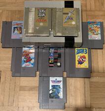 NES + 10 Spiele Zelda 1 2 Super Mario Bros 1 2 3 Duck Tales A Boy and his Blob !