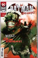 BATMAN WHO LAUGHS #2 ~ 2ND PRINT RED VARIANT ~ (JOCK COVER) ~ DC Comics