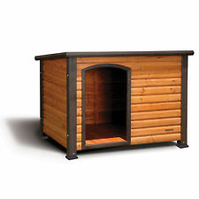 Precision Pet Extreme Outback Log Cabin Dog House, Small