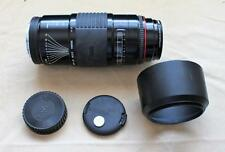 Sigma Zoom AF-APO Auto Focus f=70-210mm 1:3.5-4.5 lens for Minolta SLR w/extras