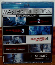Paranormal Activity 2-3-4-5-6 New 5 Blu-Ray Spanish Terror (Sleeveless Open) R2