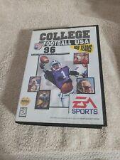 ☆ College Football USA 96 (Sega Genesis 1995) AUTHENTIC Complete