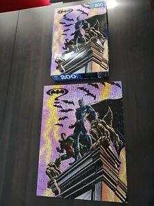 Vintage 1994 Batman Forever Jigsaw Puzzle Complete set 200 pièces Milton Bradley