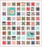To Be Jolly Moda Quilt Kit / Moda Fabric by One Canoe Two