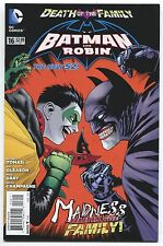 BATMAN AND ROBIN #16 - PATRICK GLEASON ART & COVER - DEATH OF THE FAMILY - 2013