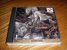 PlayStation CASTLEVANIA DRACULA X Gekka Yasokyoku Japan PS1