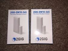 2 Lot 2Gig Security 2Gig-Dw10-345 Wireless Thin Door Window Contacts Alarm