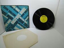 Electronic Music 1967 US Folkways Records FMS 33436 Stereo LP Grade: G+