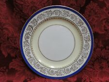 Shimokata Thin Blue Band, Gold Scrolls, Smooth: Bread Plate (s), 6.25""