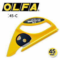 OLFA 45-C 45mm Rotary Carpet Cutter Knife Linoleum Utility MADE IN JAPAN_V