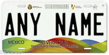 Veracruz Mexico Any Name Number Novelty Auto Car License Plate C02