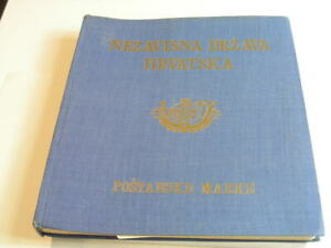 CROATIA(1941-1945), Excellent Stamp Collection hinged in a Specialty album