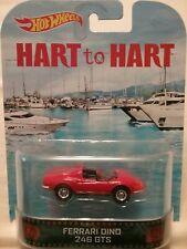 HOT WHEELS FERRARI DINO 246 GTS Hart to Hart Retro Entertainment 2013
