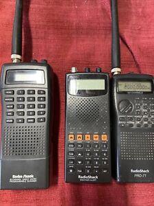 Radio Shack Channel PRO-71 100 Channels VHF/UHF/Air Radio Scanner3for1 L👀K