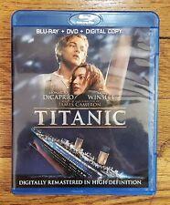 Titanic (Blu-ray/DVD, 2012, 4-Disc Set, No Digital Copy)