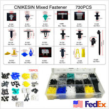 730Pcs/Box clips for Door Panel  Fastener Replace US Stock Fedex Free shipping