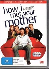 HOW I MET YOUR MOTHER Complete Season One - DVD R4 3-Disc Set - VG FREE POST