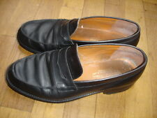 Stephane Gontard chaussures mocassins cuir taille 40,5 MADE IN FRANCE Ref 35