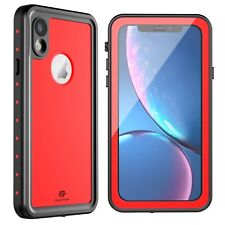For Apple iPhone XR Waterproof Case Cover with Built-in Screen Protector