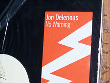 """JON DELERIOUS No Warning 2 LP's 12"""" Mint/Sealed NordicTrax  NT030  2003"""
