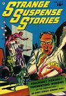 Strange Suspense Stories 02 Comic Book Cover Art Giclee Reproduction on Canvas