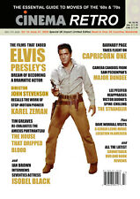 CINEMA RETRO #47 ELVIS PRESLEY HOUSE THAT DRIPPED BLOOD MAJOR DUNDEE