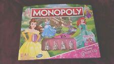 Monopoly: Disney Princess Monopoly Game Edition Board Game Hasbro COLLECTIBLE