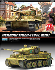 Academy 1/35 Plastic Model Kit GERMAN TIGER-I [Ver. MID] #13287