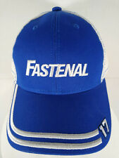 Fastenal Racing Ball Cap in Royal Blue 100/% Cotton One Size New