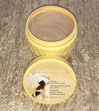 Avon Naturals VANILLA Ice Cream Scrub Exfoliant 6.7 fl oz  **READ FULL DESC**