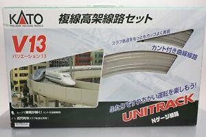 Kato 20-8721 V13 Double Track Elevated Set