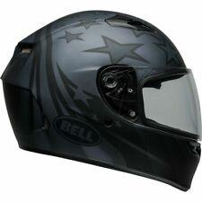 BELL CASCO INTEGRALE MOTO HELMET QUALIFIER HONOR MATT TITANIUM BLACK TG. S 56 CM