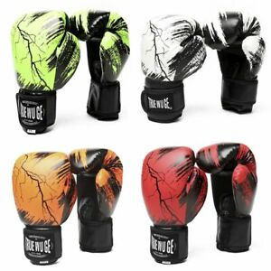 Boxing Gloves Power HIGH Quality Adult Women/Men Muay Thai Training & Combat