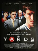N140 Affiche Cinéma The Yards un film de James Gray mark Wahlberg