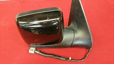 03-05 LINCOLN AVIATOR RIGHT FRONT SIDE VIEW POWER PASSGR DOOR MIRROR BLACK OEM
