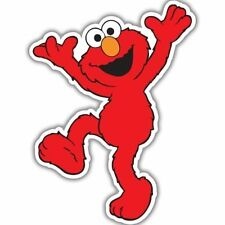 "Elmo Sesame Street Vynil Car Sticker Decal   -4 Pack  2.5"""
