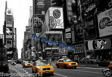 Yellow Cabs New York  Lounge Image Picture Poster Wall Art Print New