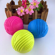 GT- EB_ Dog Cats Pet Puppy Playing Rubber Ball Chew Bite Fetch Toy Pet Supplies