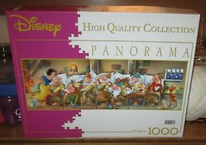 1000 pc JIGSAW PUZZLE ( DISNEY PANORAMA - SNOW WHITE ) EXCELLENT CONDITION!!!
