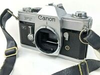 Canon FT QL Chrome SLR Film Camera Body