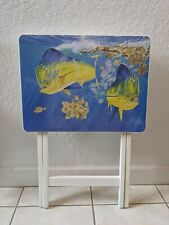 GUY HARVEY FISH TRAY TABLE, MAHI MAHI