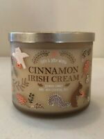 CINNAMON IRISH CREAM Candle Bath & Body Works  Large 3-Wick Scented Candle NEW